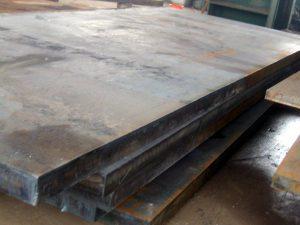 Thép tấm A36 với độ dày lớn phù hợp với công trình khó