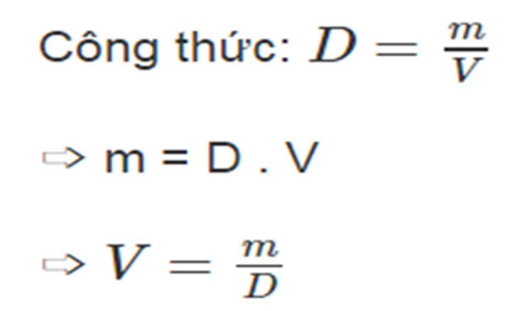Công thức tính trọng lượng riêng của thép