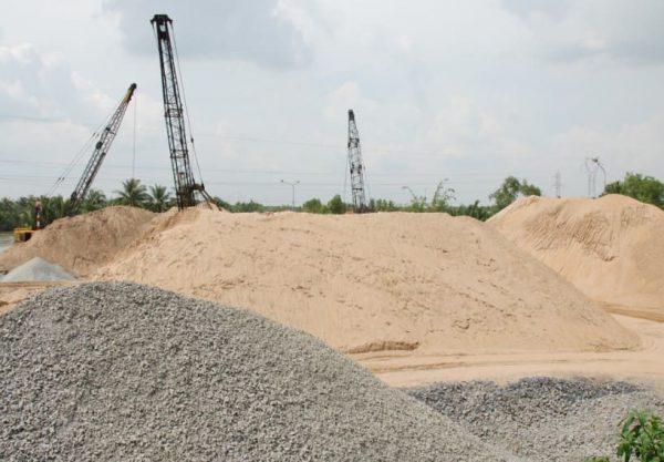 Cập nhật giá cát xây dựng mới