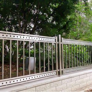 Không nên thiết kế tường rào quá nhỏ khiến trộm dễ nhòm ngó